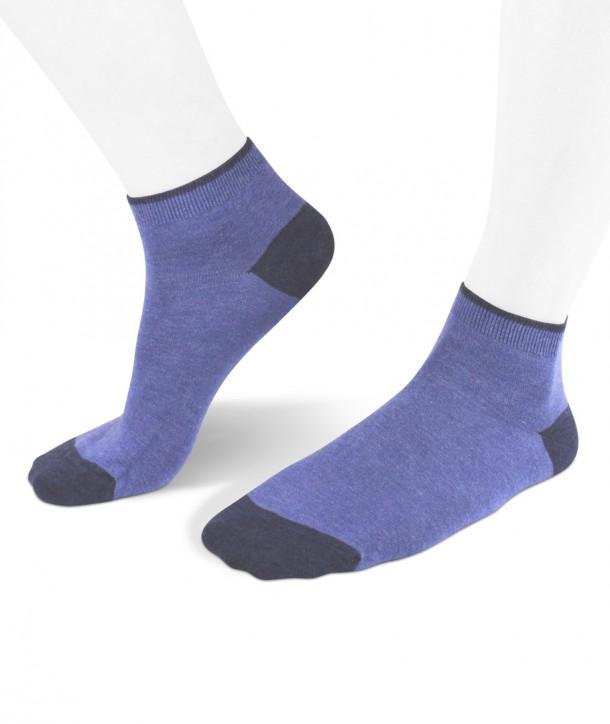 sneaker viscose women socks blue
