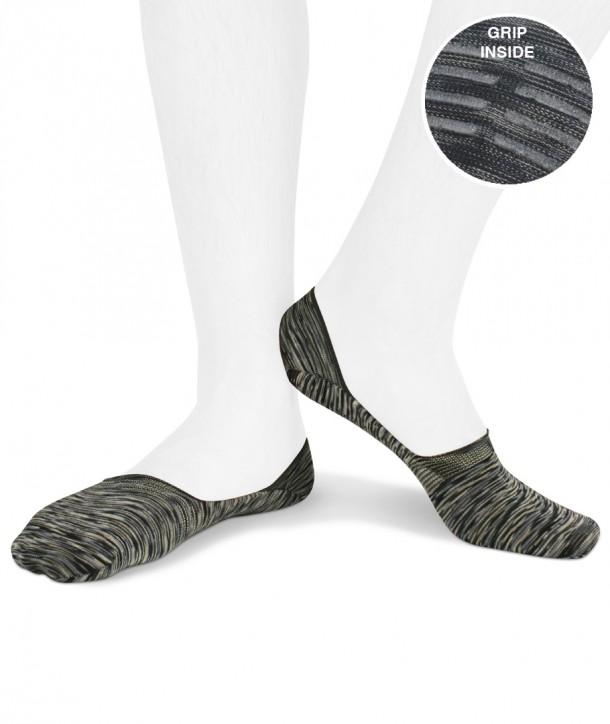 multicolor cotton no show socks for men blue