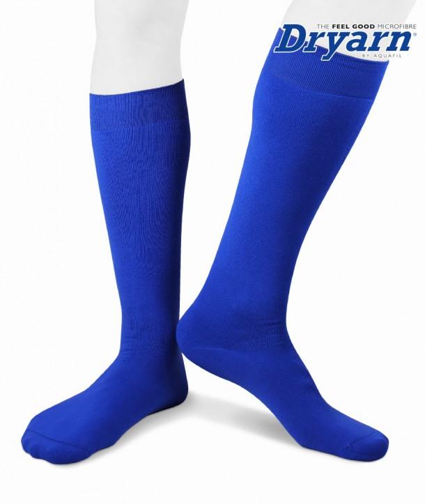 Long microfleece Dryarn® bluette socks for men