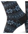Winter fancy cashmere short men socks brown