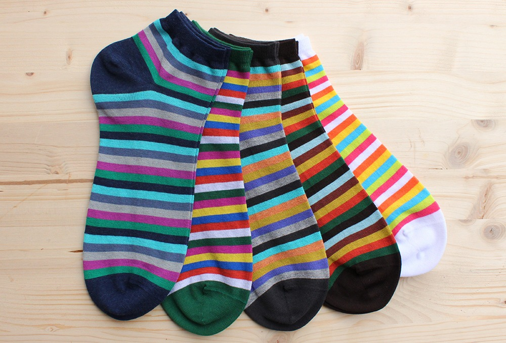 COTTON SNEAKER SOCKS FOR MEN